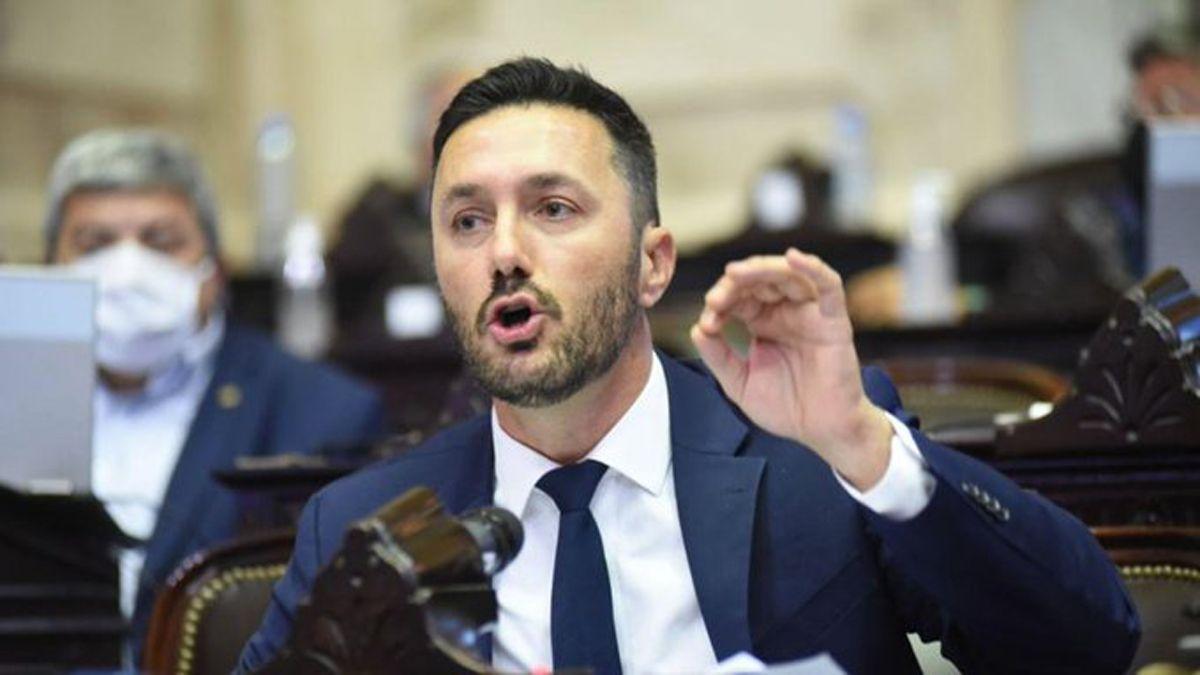 El diputado mendocino Luis Petri