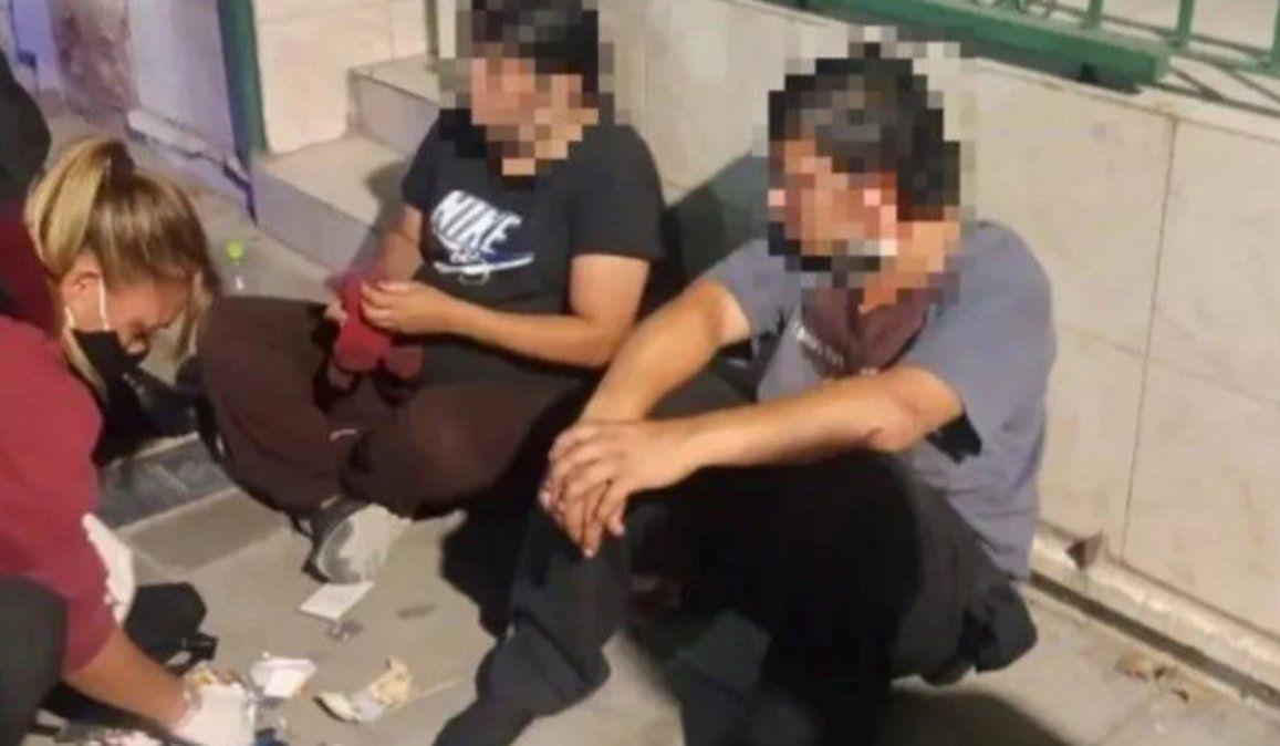 El hijo del custodio asesinado y la novia fueron detenidos después de que se relevaran las cámaras de seguridad de la Ciudad de Buenos Aires