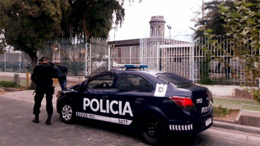Coronavirus en Mendoza: protesta de presos en la cárcel de Boulogne Sur Mer