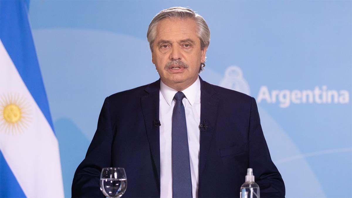 Alberto Fernández anunció nuevas medidas de restricción