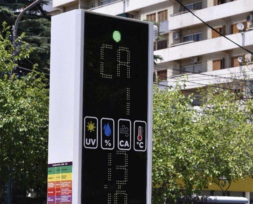 Godoy Cruz ya tiene el primer sensor de calidad del aire