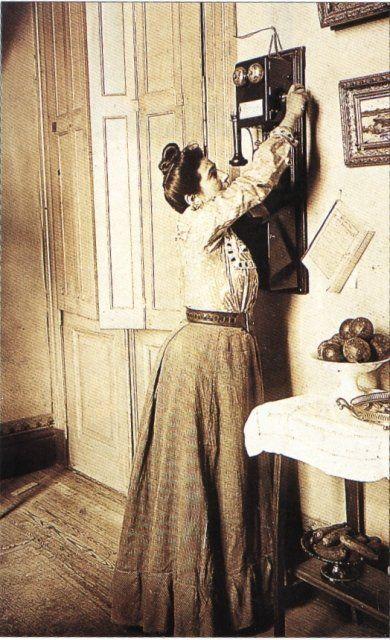 La primera empresa de teléfonos