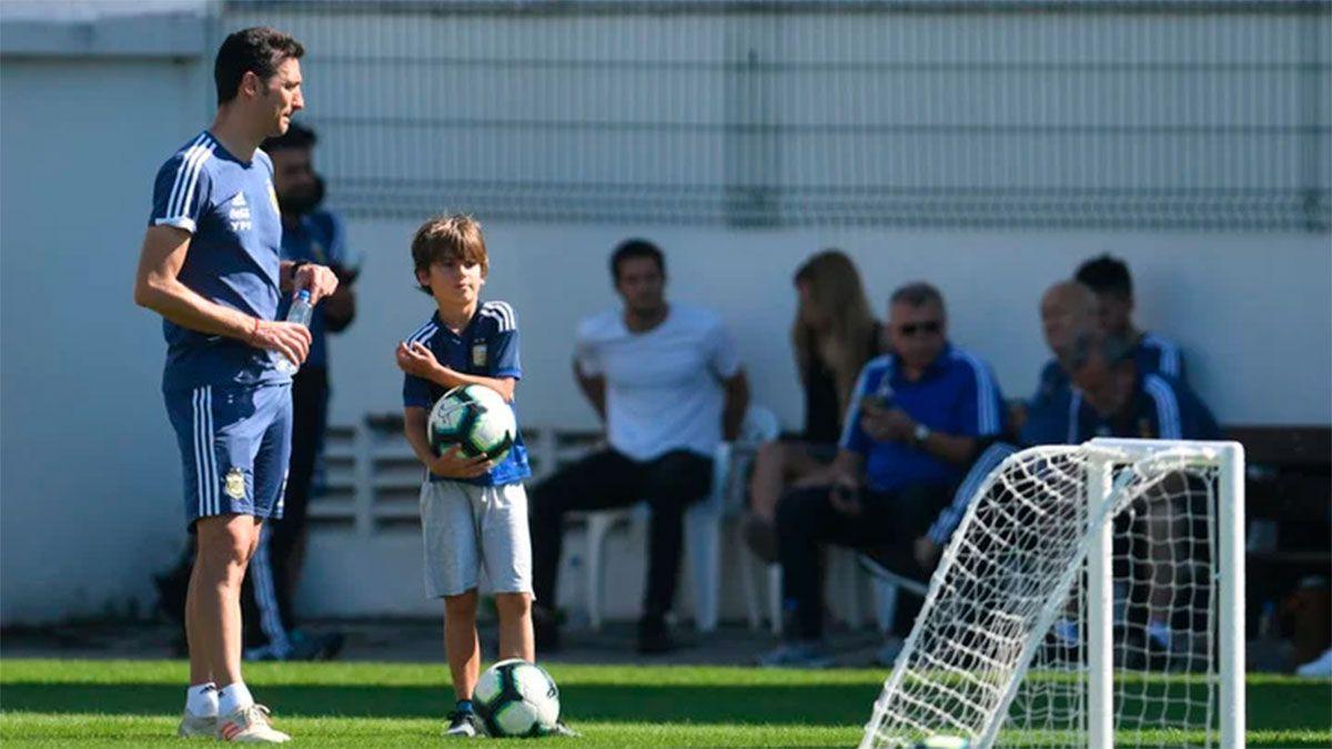 Scaloni piensa en la lista de 23 para Eliminatorias y Copa América