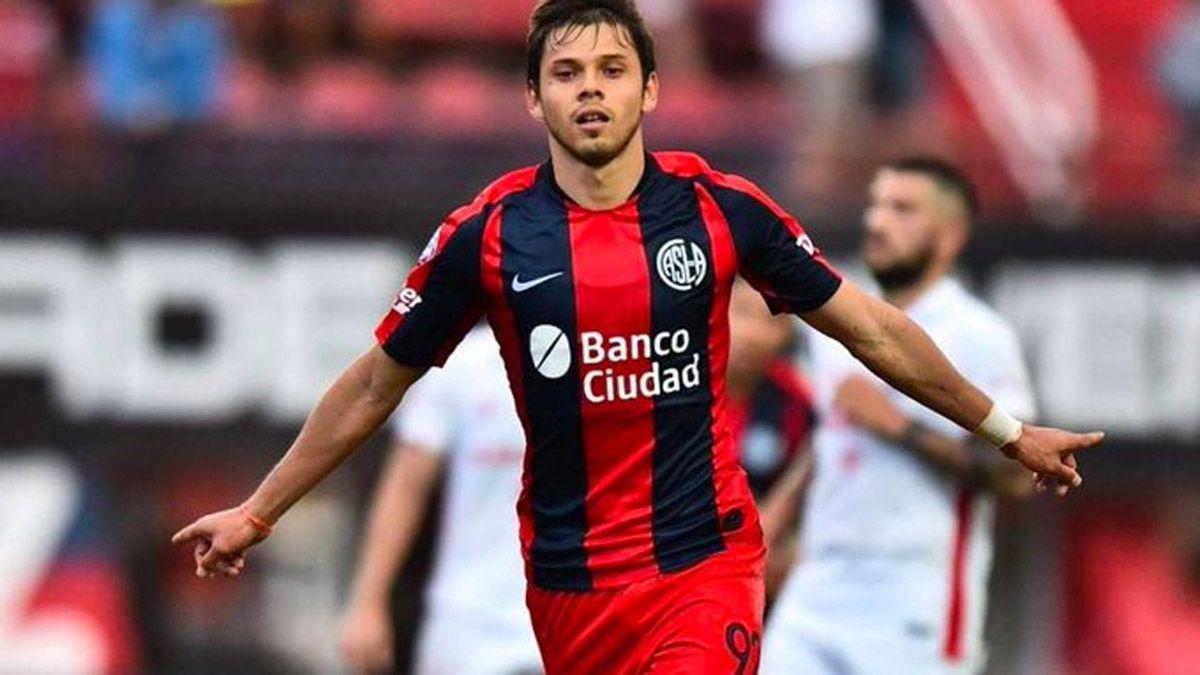 Ángel Romero se sumó a San Lorenzo tras el incidente