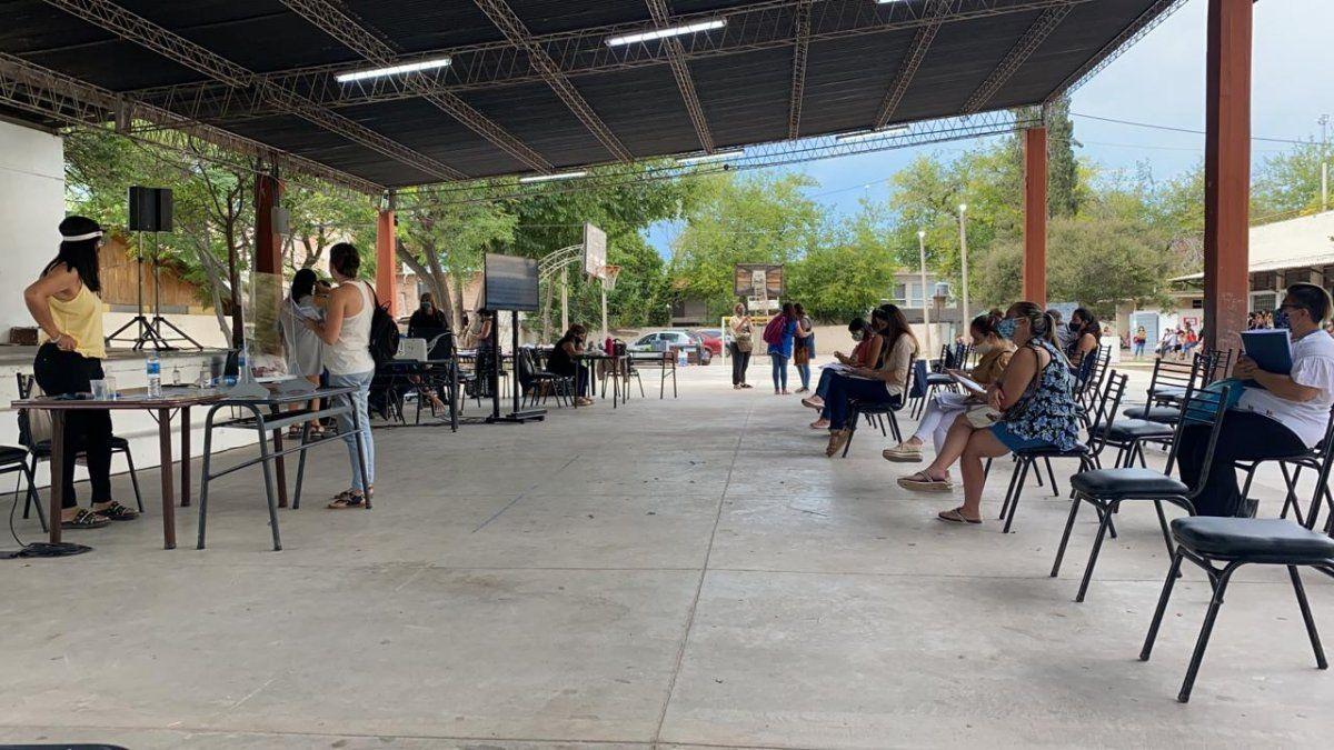 Los nuevos cargos de nivel inicial se entregaron en la escuela Guillermo Cano de Guaymallén.