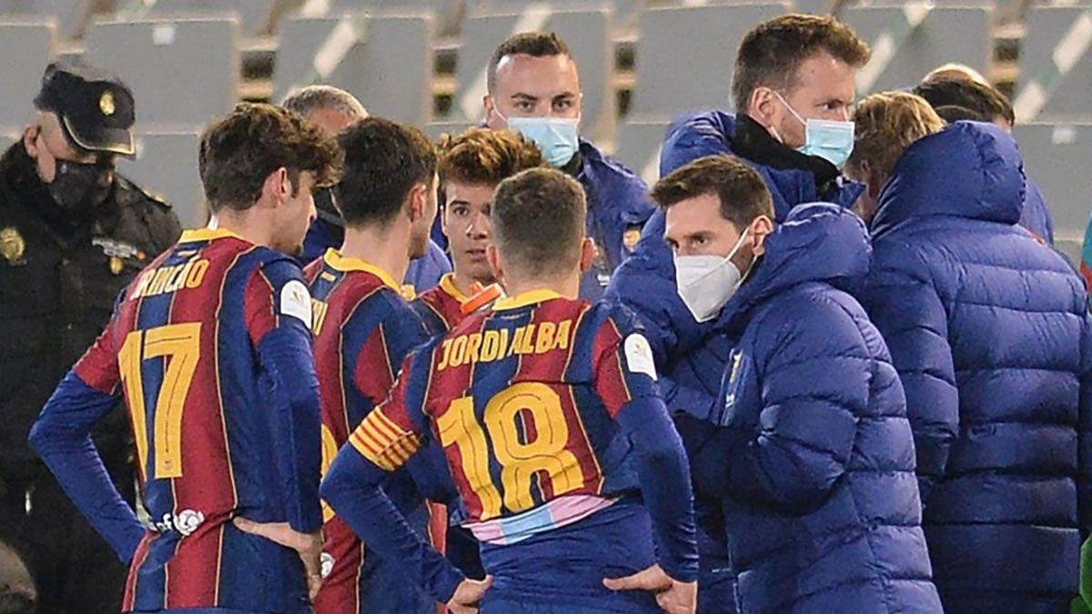El Barcelona de Messi pasó a la final de la Supercopa.