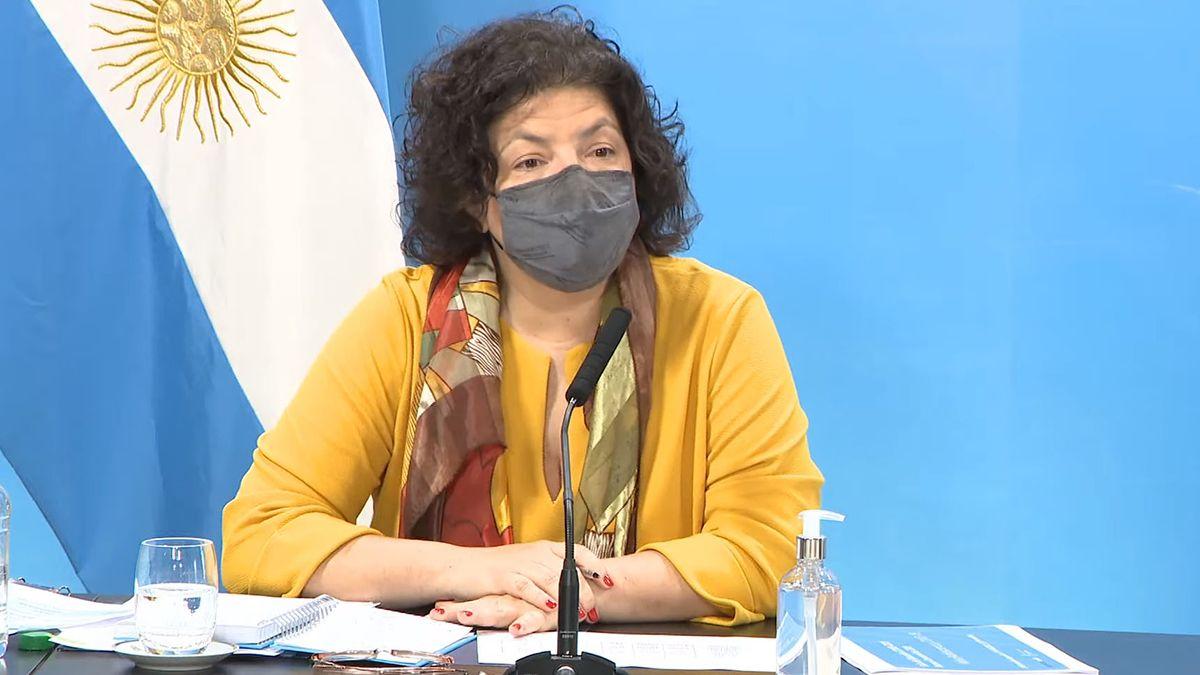 Carla Vizzotti se refirió a la situación epidemiológica por el Covid en Argentina.