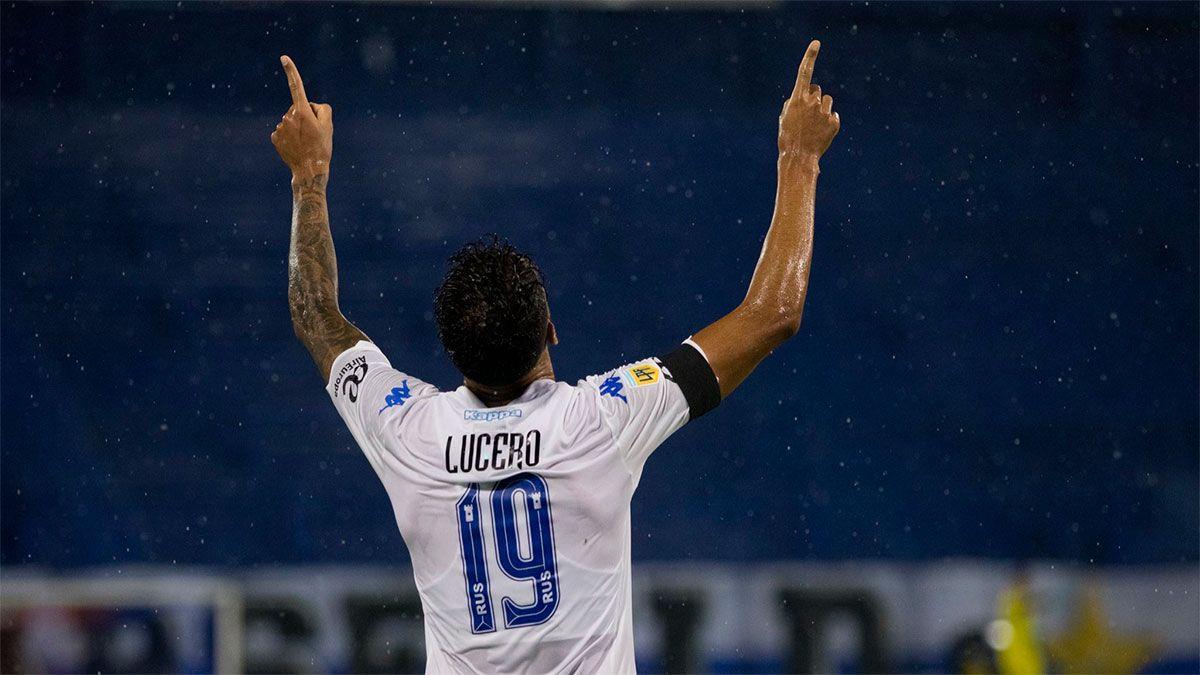 Con gol del mendocino Lucero, Vélez venció a Newells