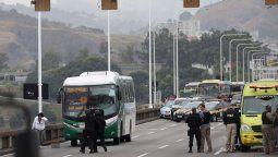 Secuestrador fue abatido por francotiradores en Brasil