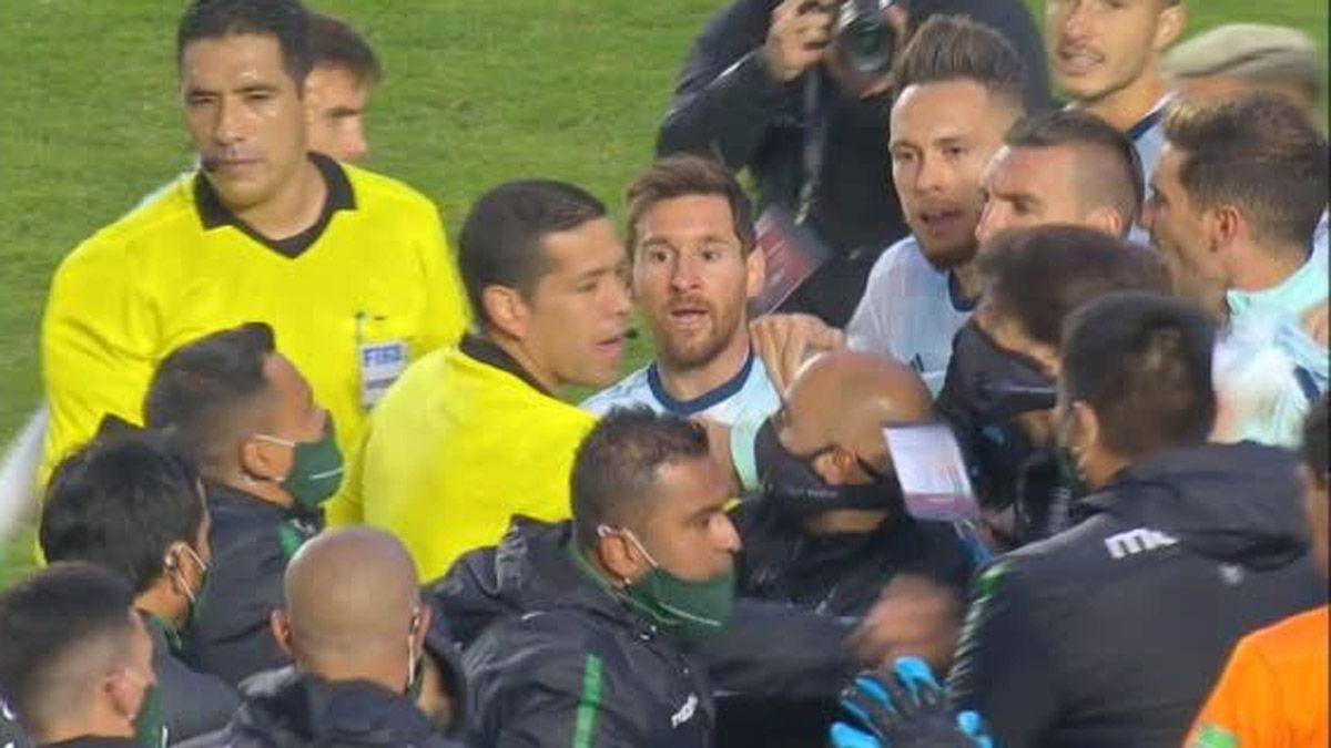 ¿Qué te pasa pelado?: quién se peleó con Messi en Bolivia