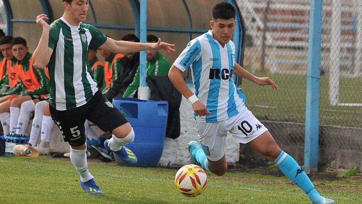 Juvenil de Racing, en la mira del Barcelona y Real Madrid