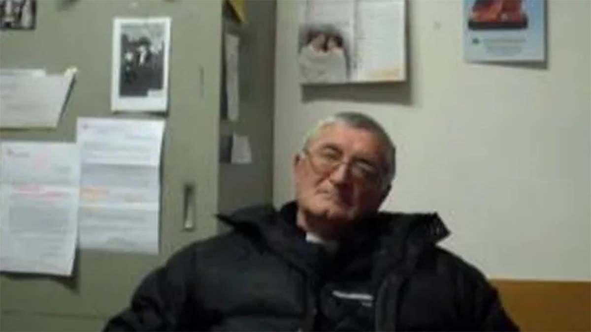El sacerdote católico Franco Reverberi se encuentra en Italia