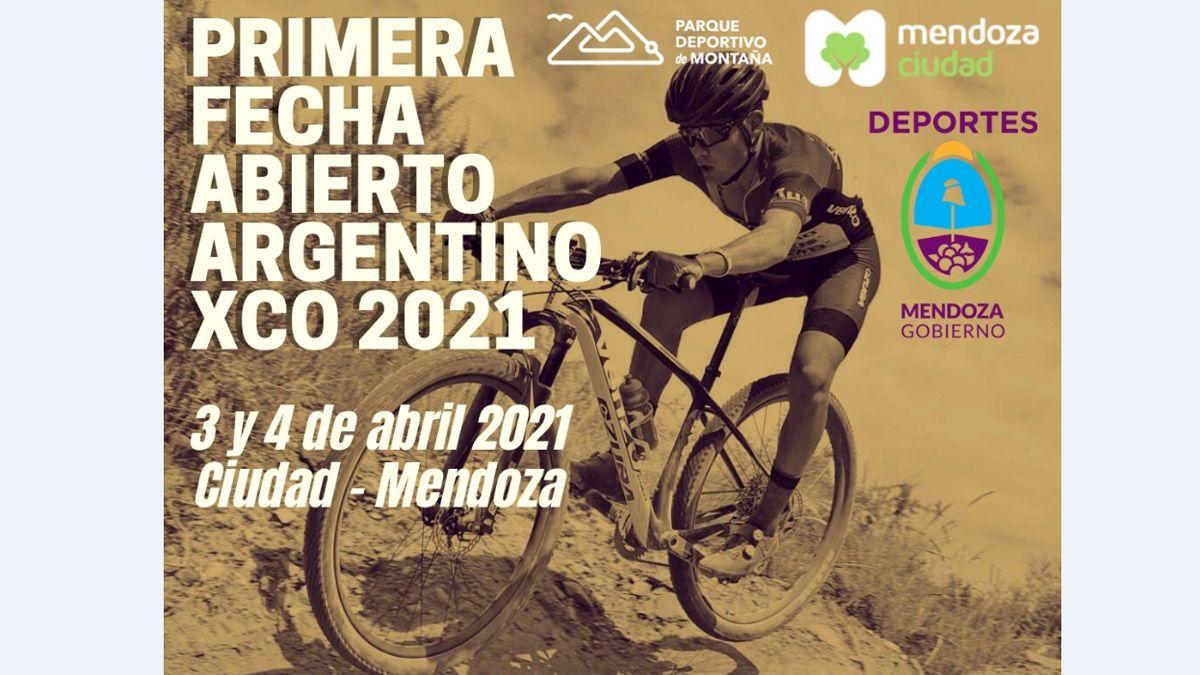 Mendoza recibirá a los mejores bikers en el Argentino de XCO