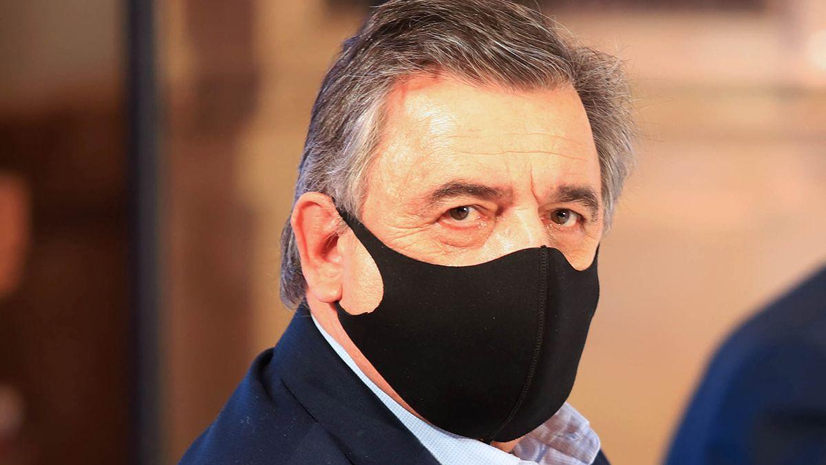 Mario Negri fue uno de los dirigentes radicales de la oposición que se manifestó en contra de los vacunados VIP.