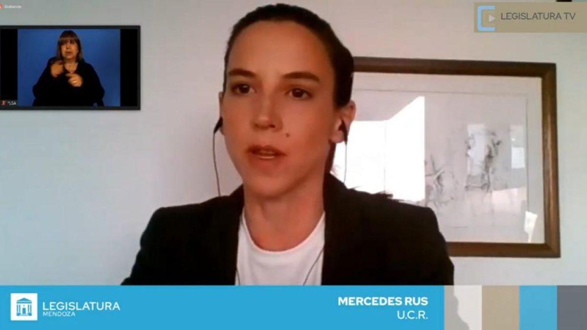 La senadora Mercedes Rus autora del proyecto de regulación del juego online.