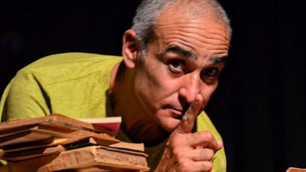 Daniel Quiroga es uno de los referentes culturales de Mendoza.