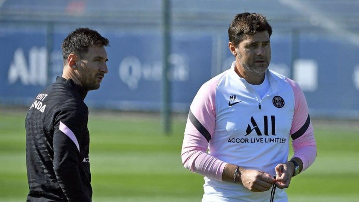 Mauricio Pochettino y Lionel Messi surgieron de Newell's y hoy coinciden en el PSG