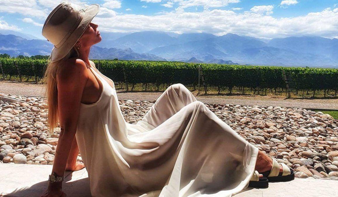 ¡Bomba! Nicole Neumann, en Mendoza y ¿con nuevo novio?