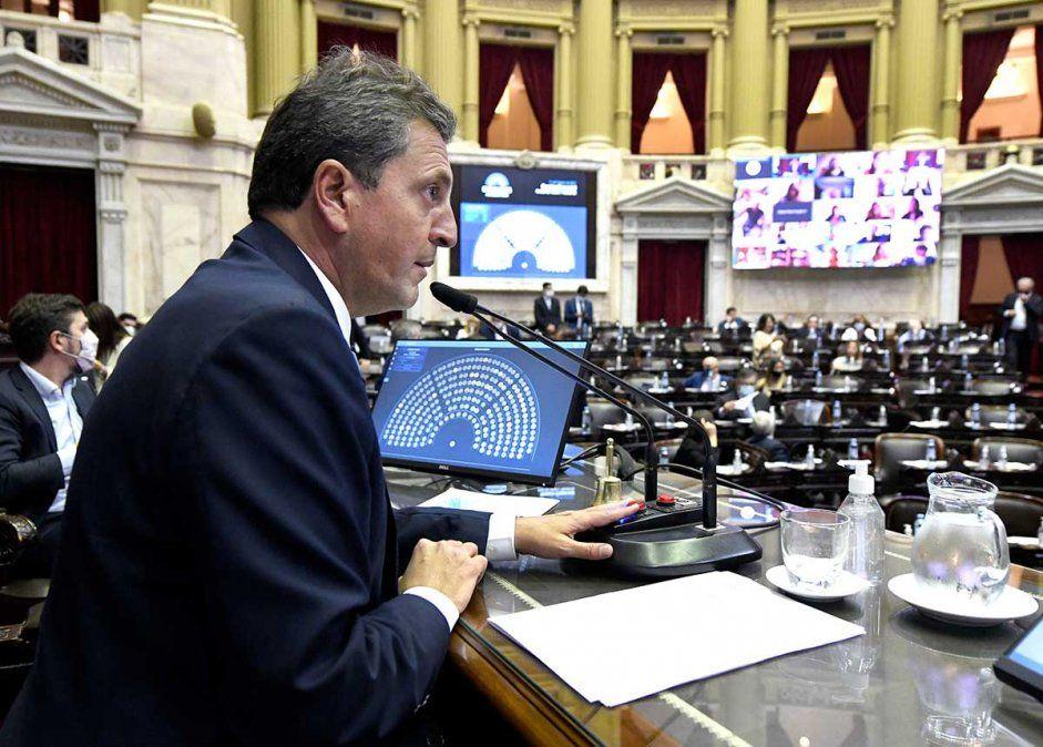 El proyecto para cambiar el Impuesto a las Ganancias pertenece al presidente de la Cámara de Diputados