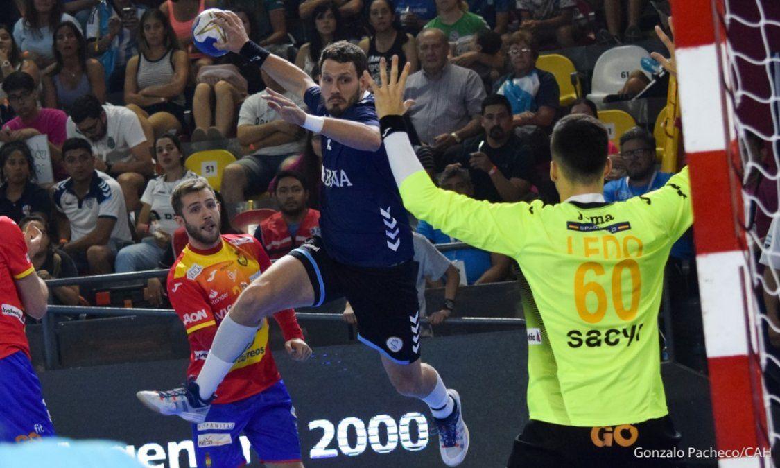 Los Gladiadores vencieron a España, subcampeón de Europa