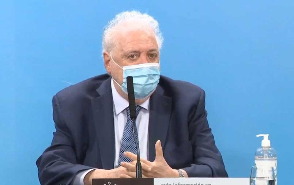 Ginés González García no recomienda las PASO en agosto.