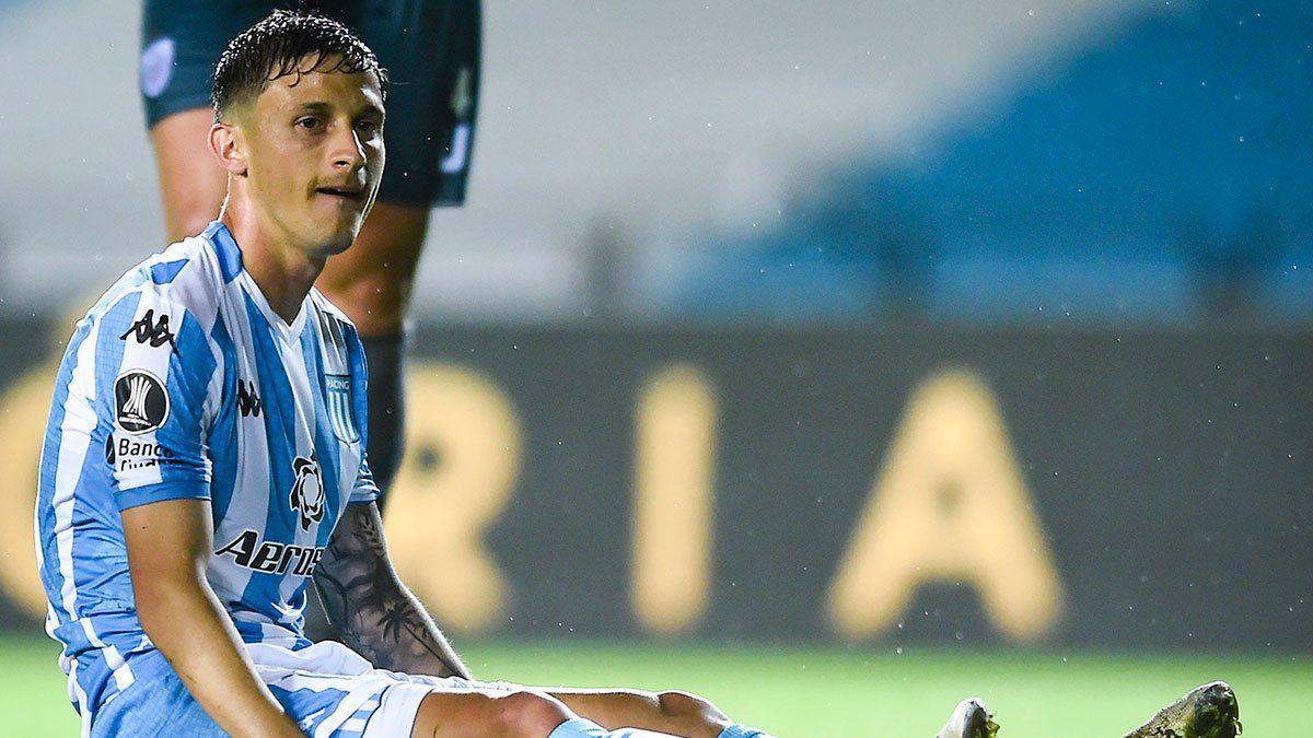 Héctor Fértoli se perdió un penal en Racing