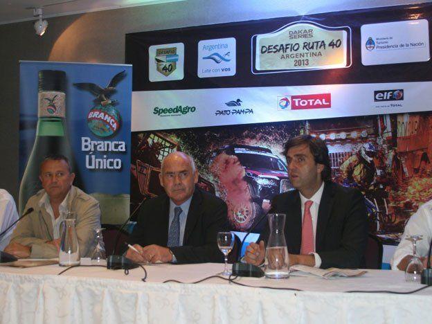 Se presentó el Desafío Ruta 40, el segundo Dakar Series en Argentina