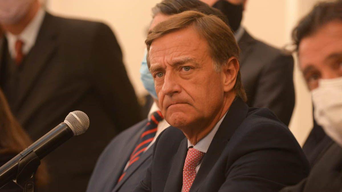 El gobernador Rodolfo Suarez no escatimó a la hora de mostrar la bronca que le generó que no avanzara su proyecto de reforma constitucional.