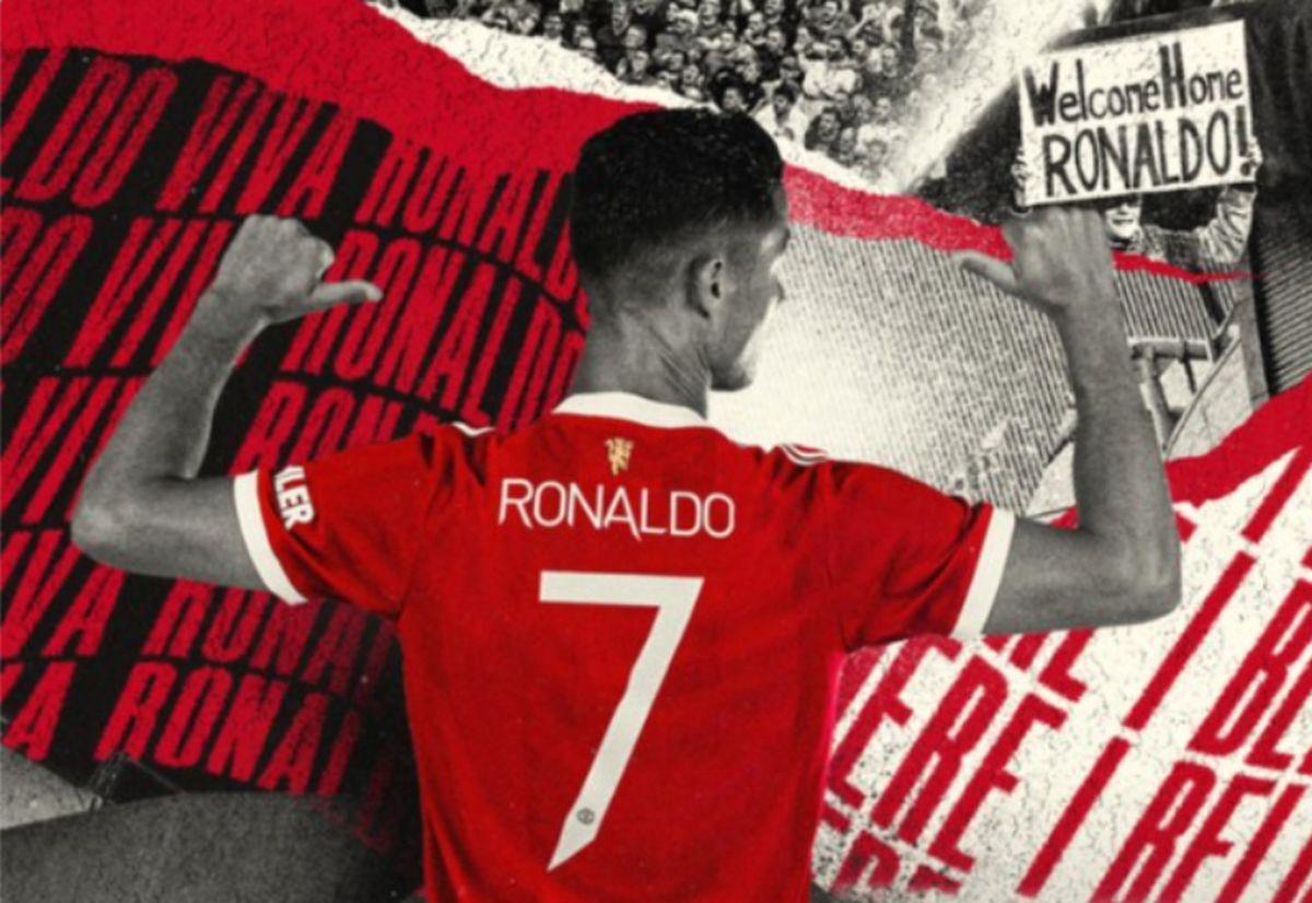 Manchester United anunció que Cristiano Ronaldo llevará el número 7 y las ventas de camisetas explotaron.
