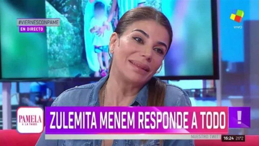 ¿Zulemita Menem se suma a Masterchef Celebrity 3?