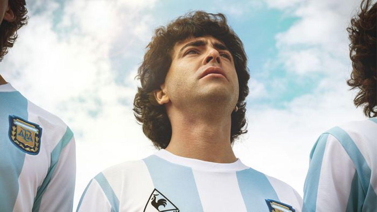 Nazareno Casero encarna a Diego en el Mundial 86.