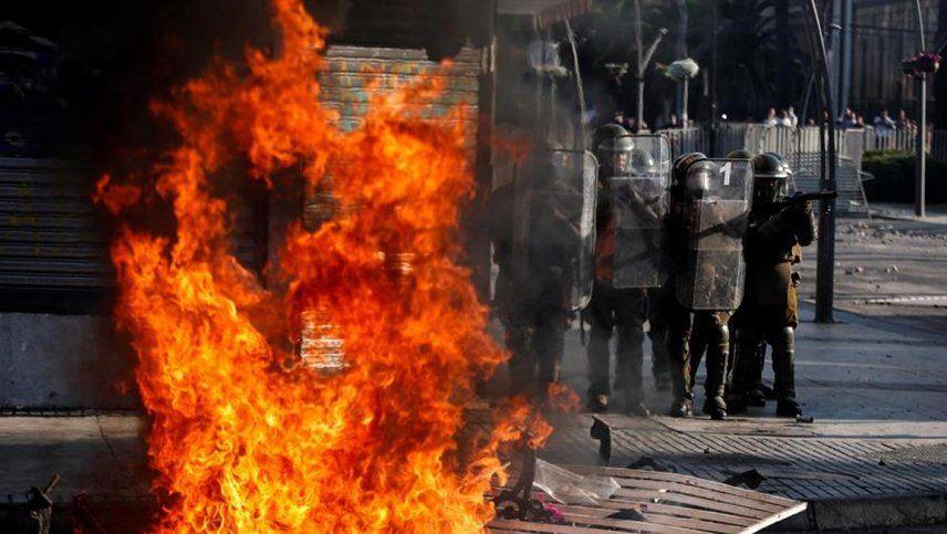 Jefe de Carabineros: No hablemos de derechos humanos