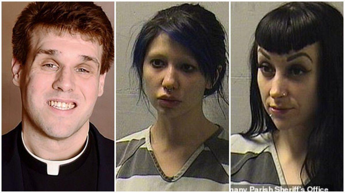 Escándalo. Un cura se grabó haciendo un trío sexual.