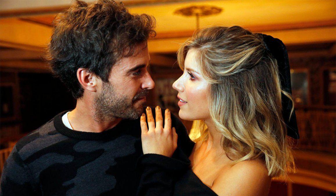 Laurita Fernández y Nicolás Cabré, separados