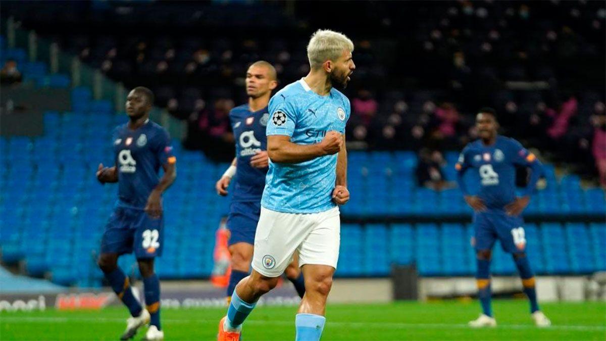 Sergio Agüero volvió al gol en el Manchester City