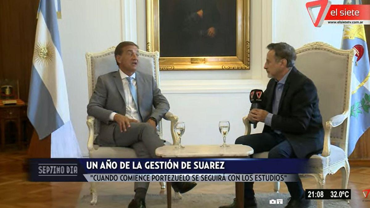 Rodolfo Suarez: La pandemia marcó la gestión