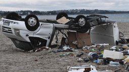 Infernal tornado mató a 6 turistas y a un pescador