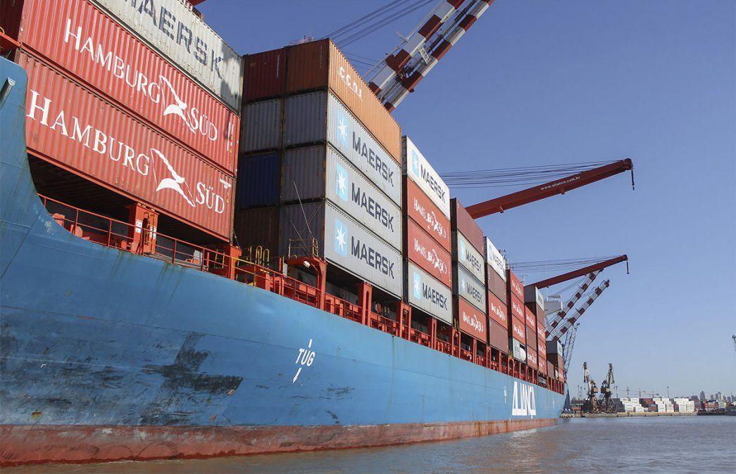 Por las exportaciones