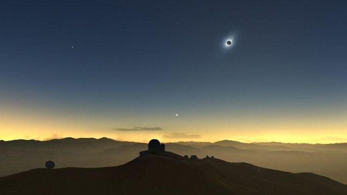 Cómo ver en vivo el eclipse total de sol de este lunes