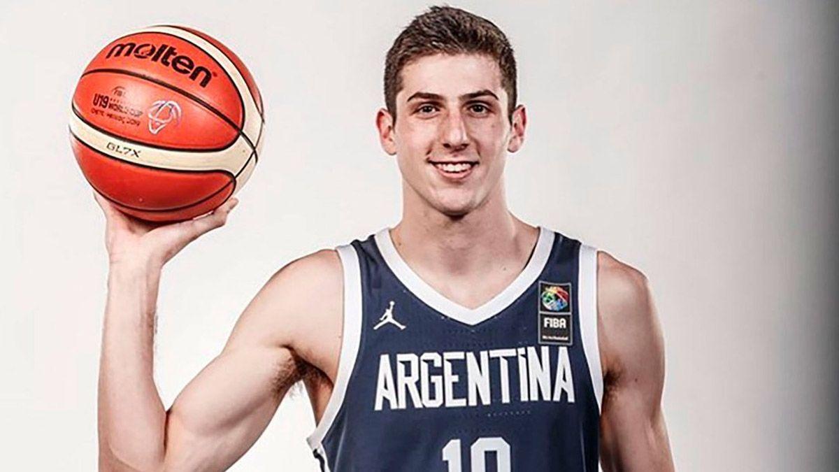 El cordobés Leandro Bolmaro jugará en la NBA