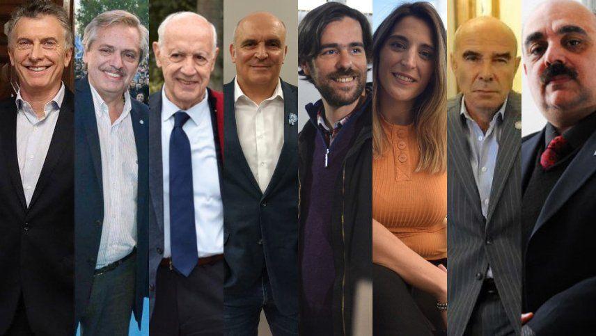 Serán nueve las fórmulas presidenciales que competirán el 11 de agosto