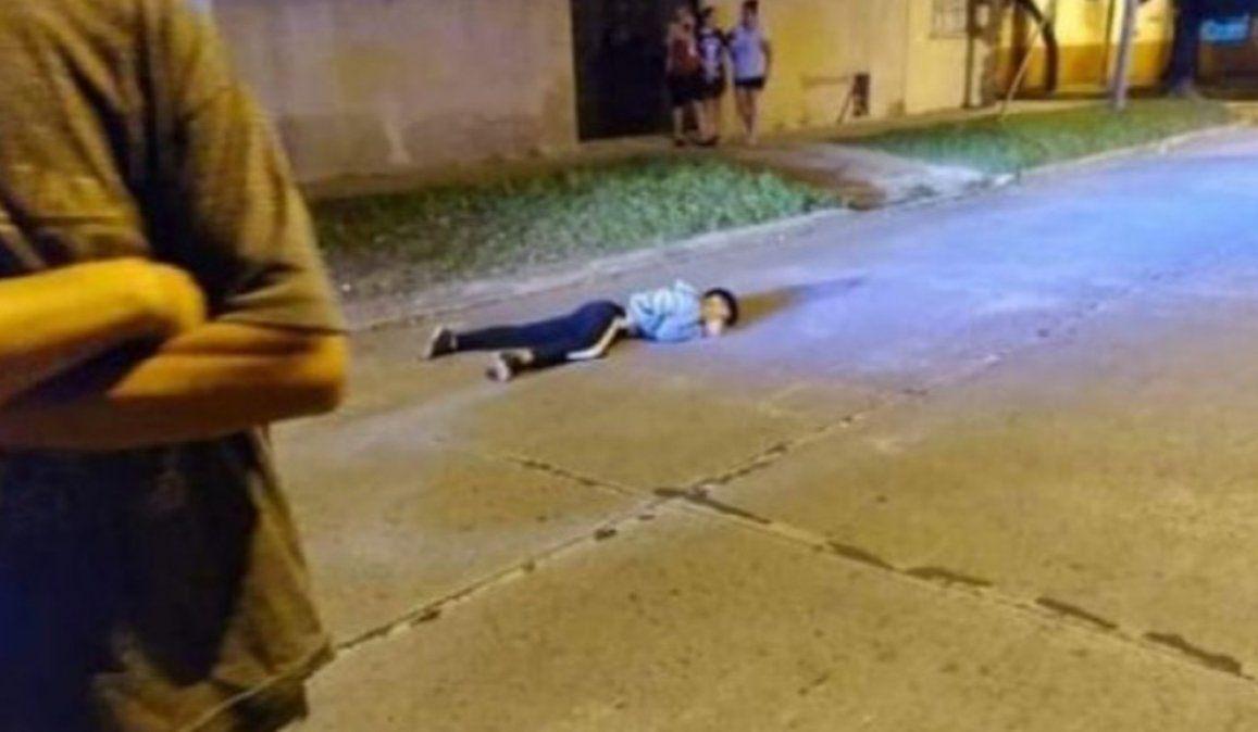 Tiroteo con una policía: un ladrón muerto y otro herido