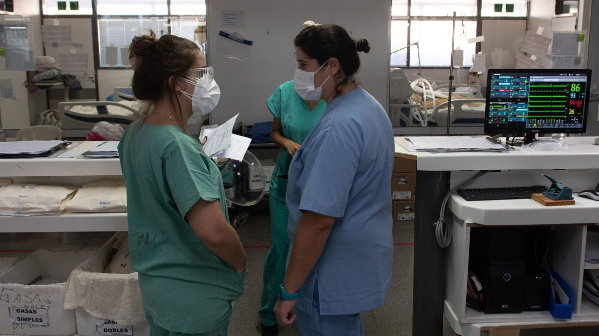 Más muertes y contagiados por la segunda ola de coronavirus en Argentina.