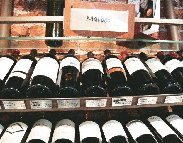El Malbec es el vino estrella de la Argentina.