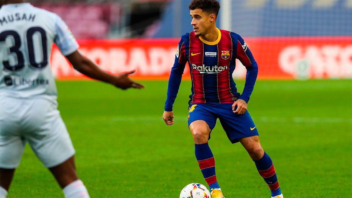 Messi marcó en el empate con gusto a poco del Barcelona