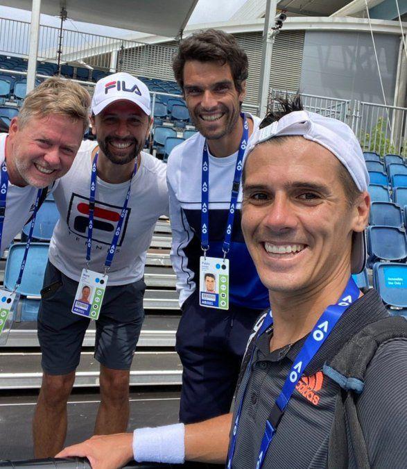 Federico Coria pasó a segunda ronda en Melbourne