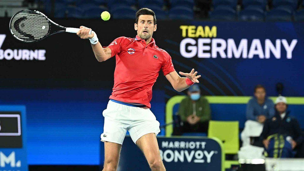ATP Cup: Djokovic ganó pero Serbia quedó eliminada