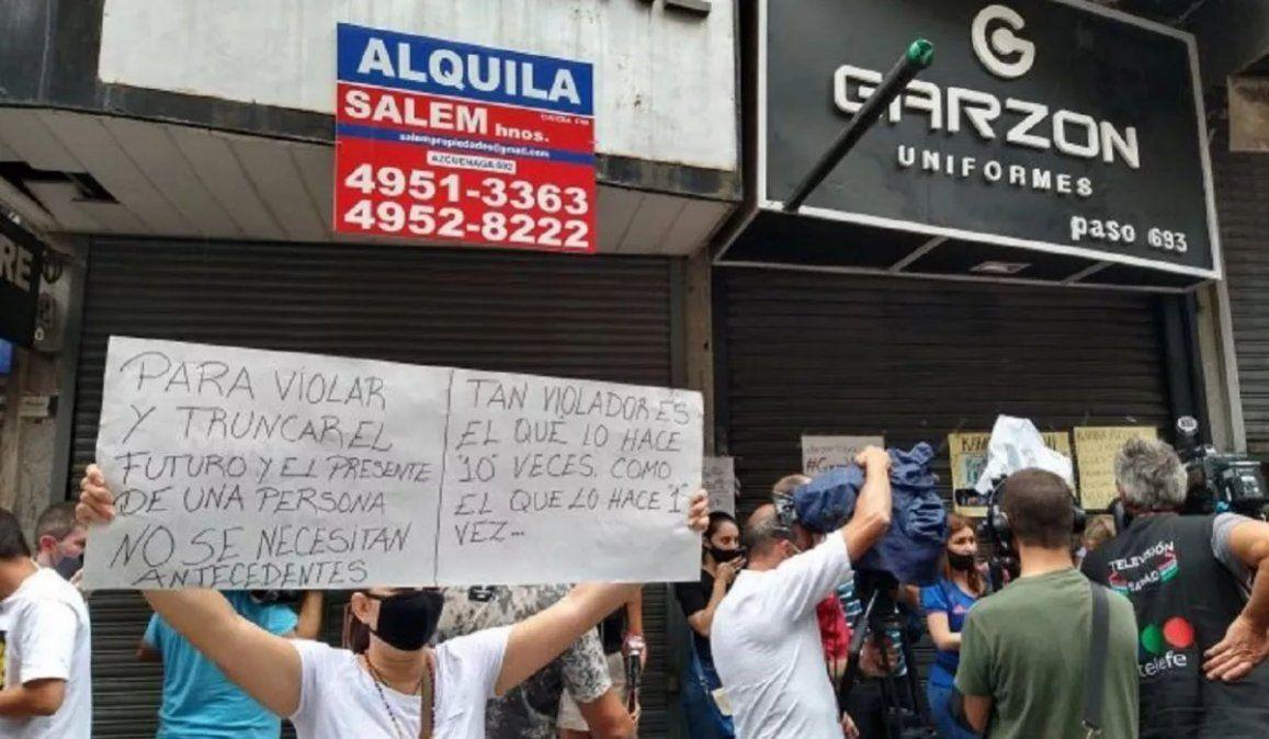 Irineo Garzón Martínez fue inhibido y le colocaron una tobillera electrónica en la causa que lo tiene como imputado por la violación de una joven venezolana.