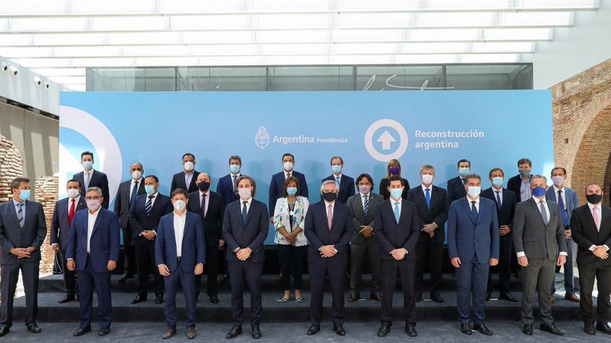 Los grandes ausentes fueron los mandatarios de San Luis y Cuidad de Buenos Aires.