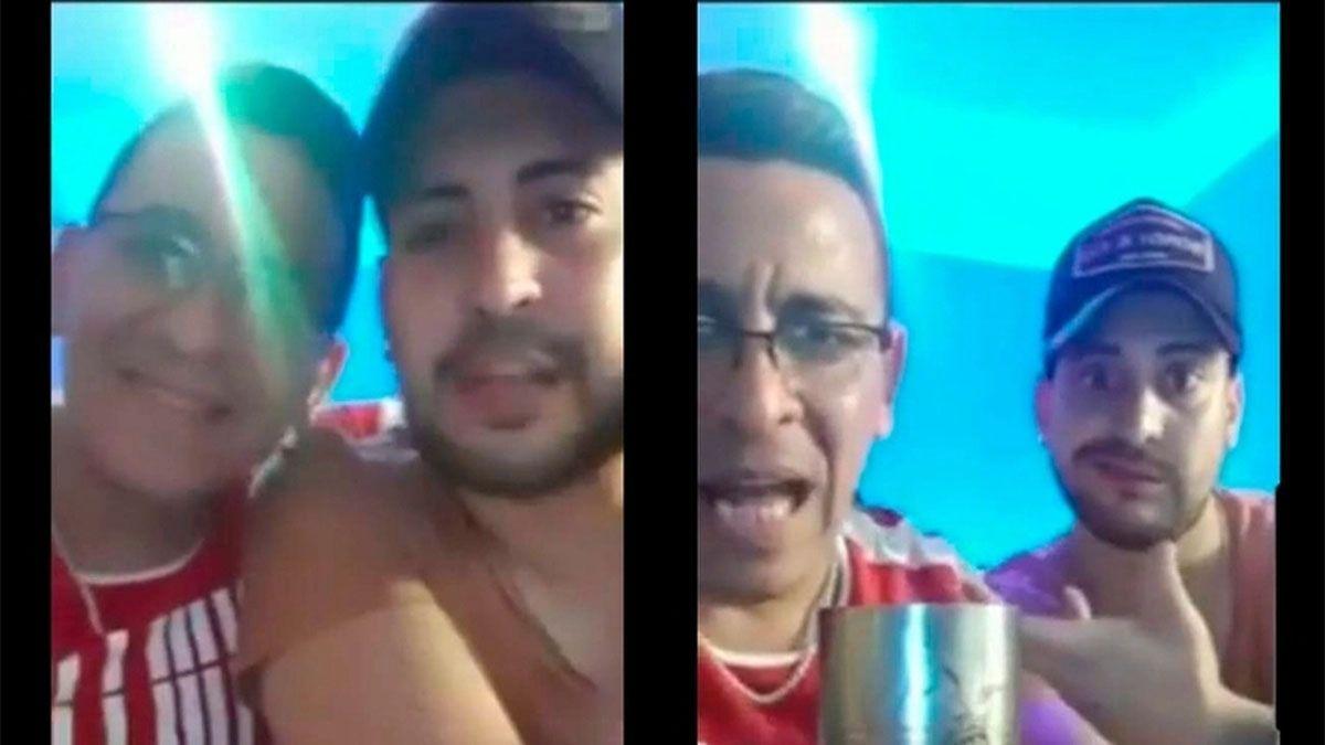 El hijo de Roberto Munives y otro policía son investigados por invitar a una fiesta clandestina.